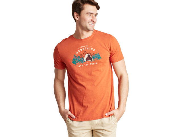 United By Blue Into the Trees T-Shirt Men orange